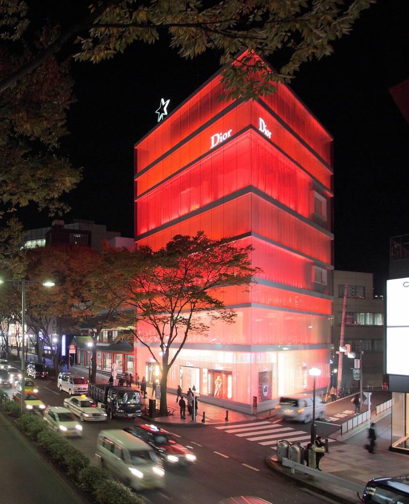 Dior Building SANAA - Tokyo Omotesando