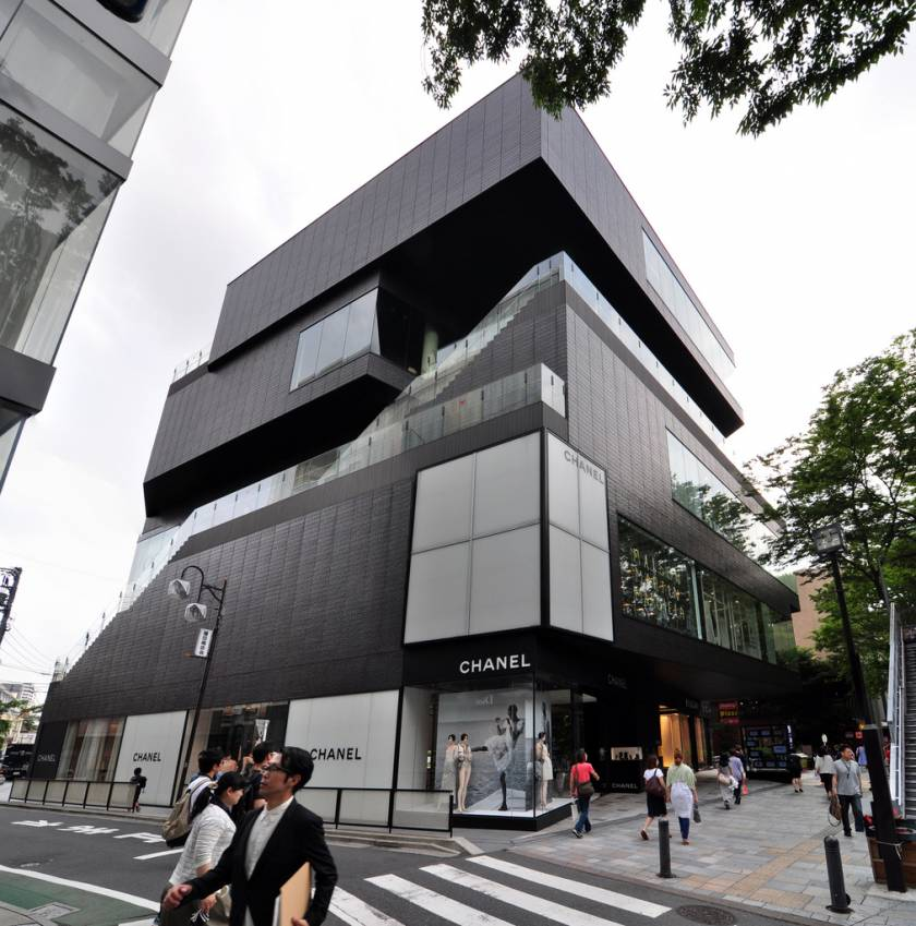 gyre building omotesando tokyo - Modern Architecture Museum