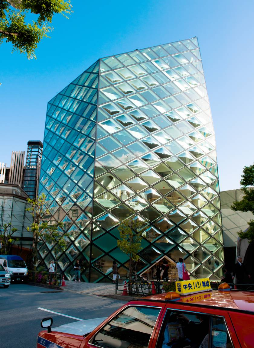 Prada Building / Herzog & de Meuron - Tokyo Omotesando