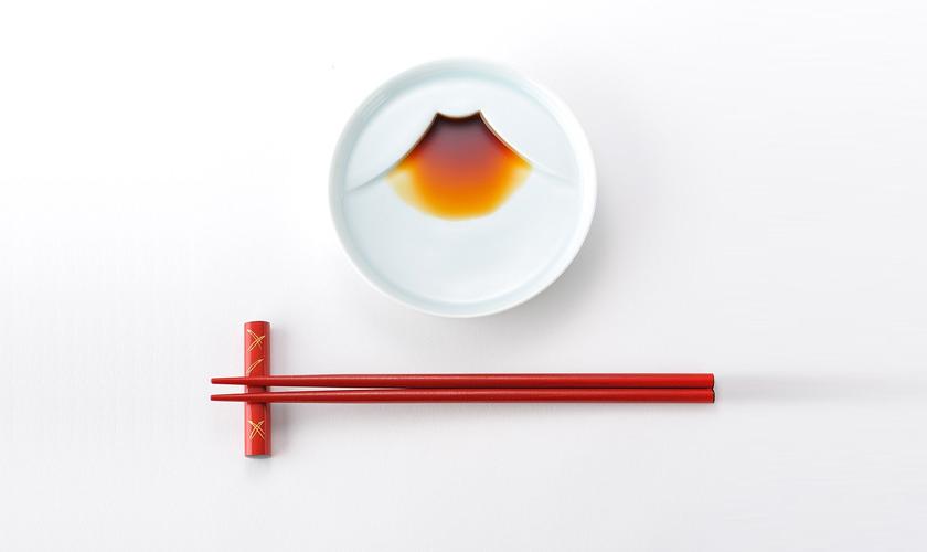 Fuji-san Soy Sauce Plate - Kaboomi Studio