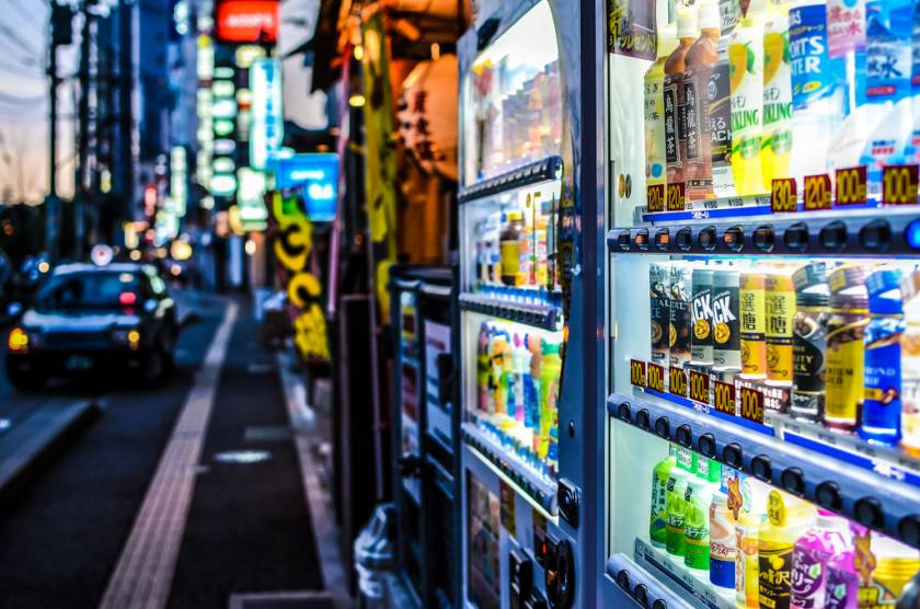 Usability in Japan - Vending Machines