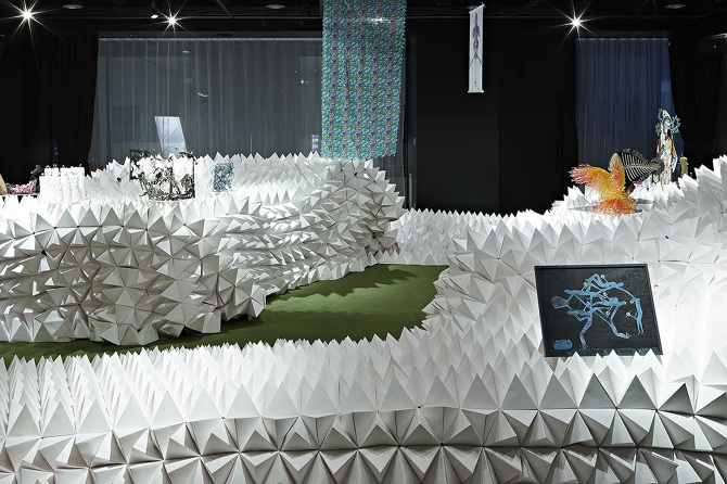MonsterScape - Monster Exhibition - Hannat Architects - Hikarie Tokyo