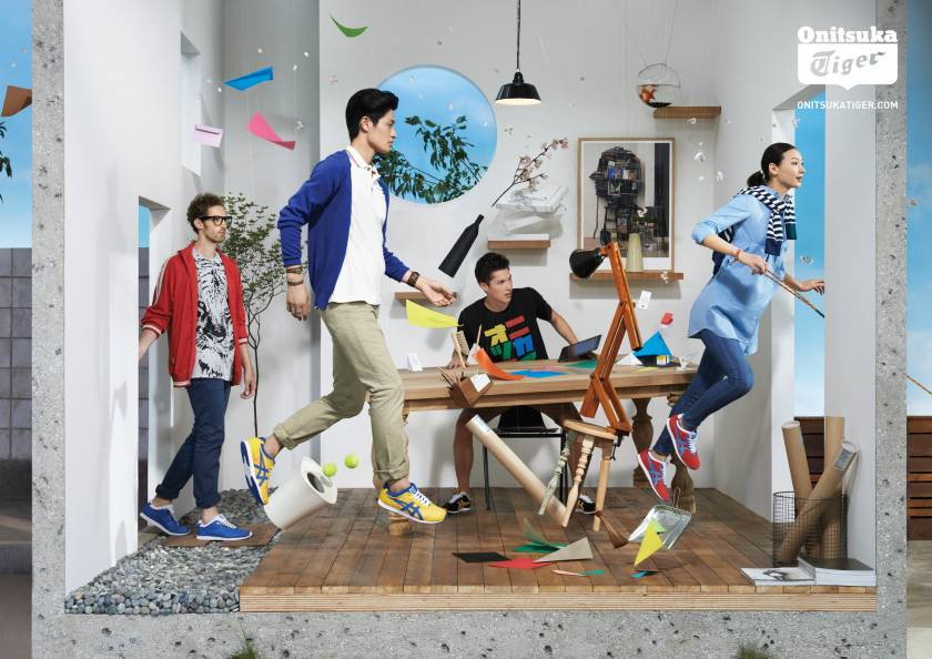 NAM Collective - Onitsuka Tiger Campaign SS 2013