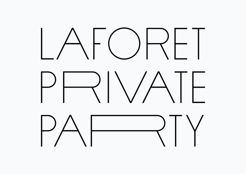 laforet-private-party-yago-naonori-japanese-graphic-design-flyer-print