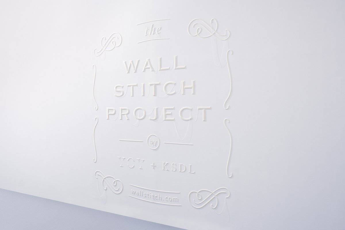 yoy wall stitch project