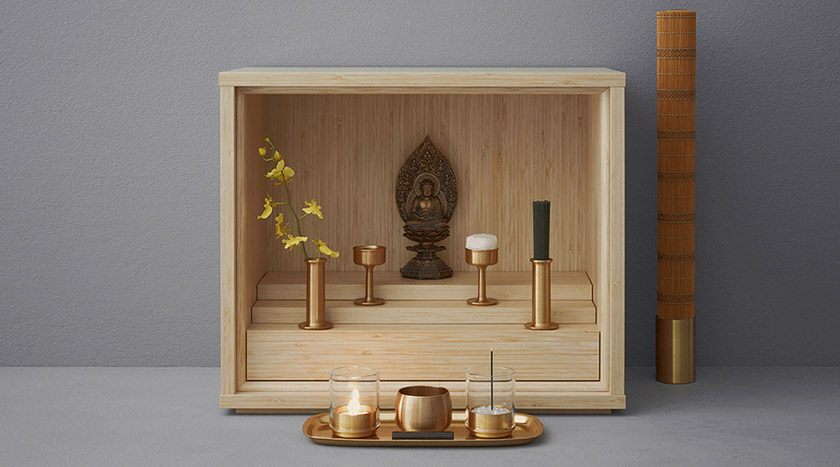 Product Design Center - Shinobu Buddhist Altar Design - Shinobu
