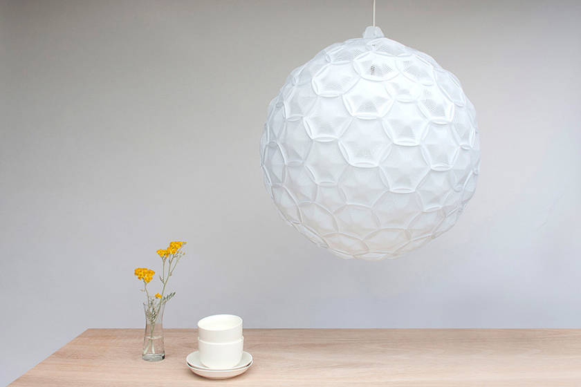 Airy Lamp Cloud Inspired Paper Lamps