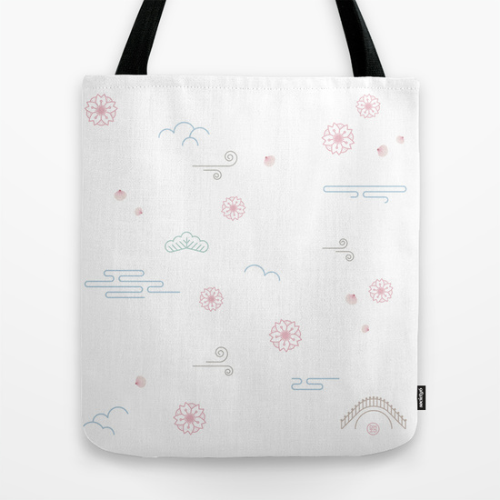 bag sakura society6