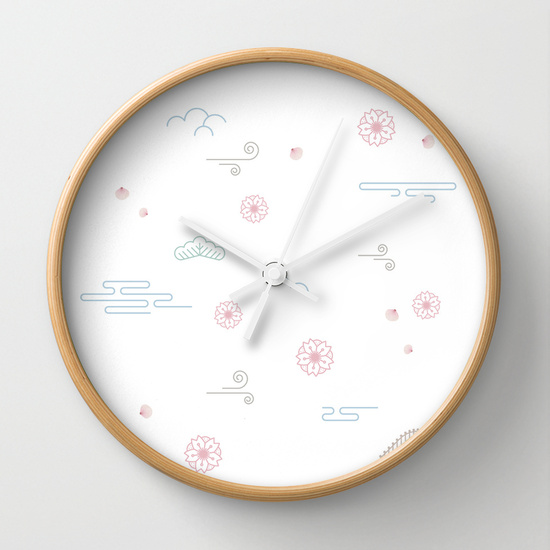 WALL CLOCK Sakura