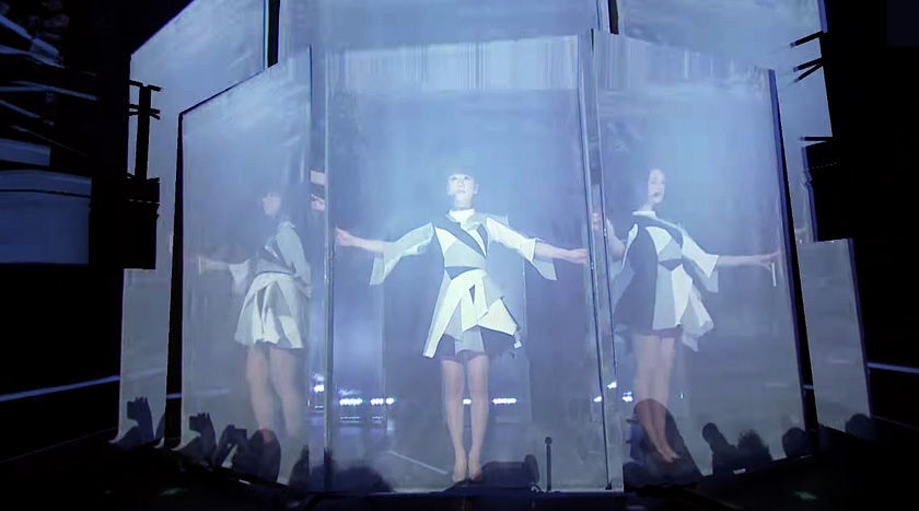 Perfume at SXSW 2015 - Rhizomatiks Mikiko elevenplay
