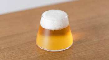 A small taste of Mt. Fuji – the Fujiyama Beer Glass