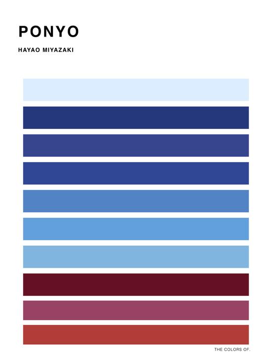 The Colors Of Studio Ghibli