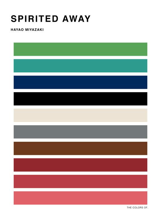 Studio Ghibli-Miyazaki-Hyo Taek Kim-poster design-MIyazaki posters-Japanese poster design-Ghibli color palette