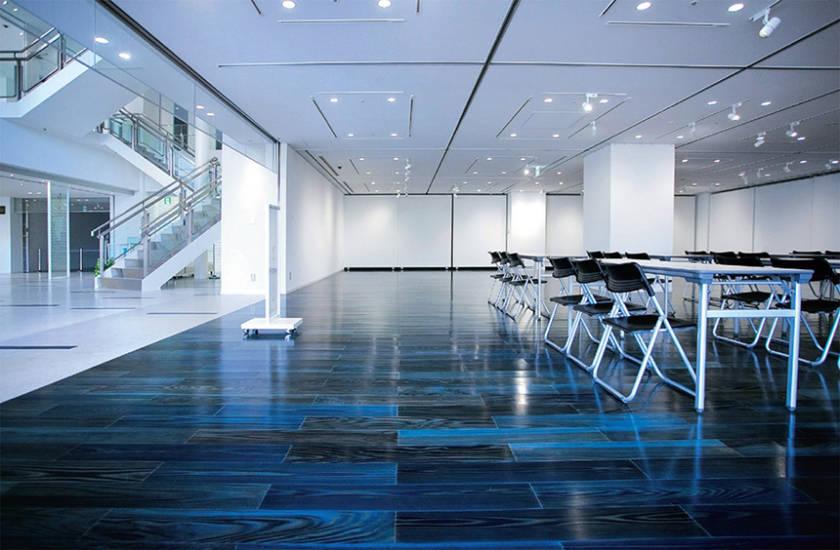 aizome indigo japan indigo interior design Dairi Lumber Co. indigo dyed tokushima