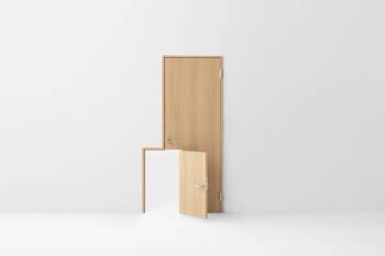nendo seven doors abe kogyo product design japan japanese design interior wood natural