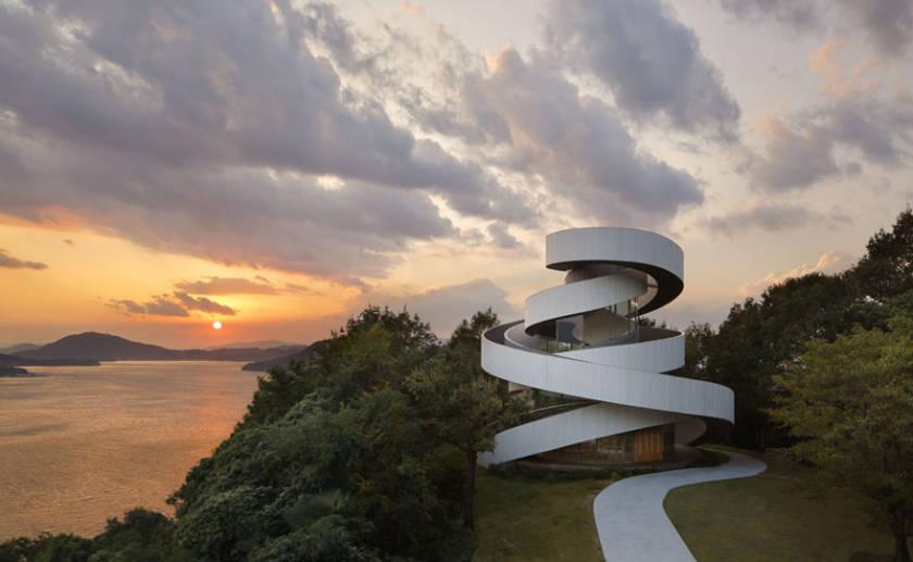Ribbon Chapel - Interior - Hiroshi Nakamura - architecture