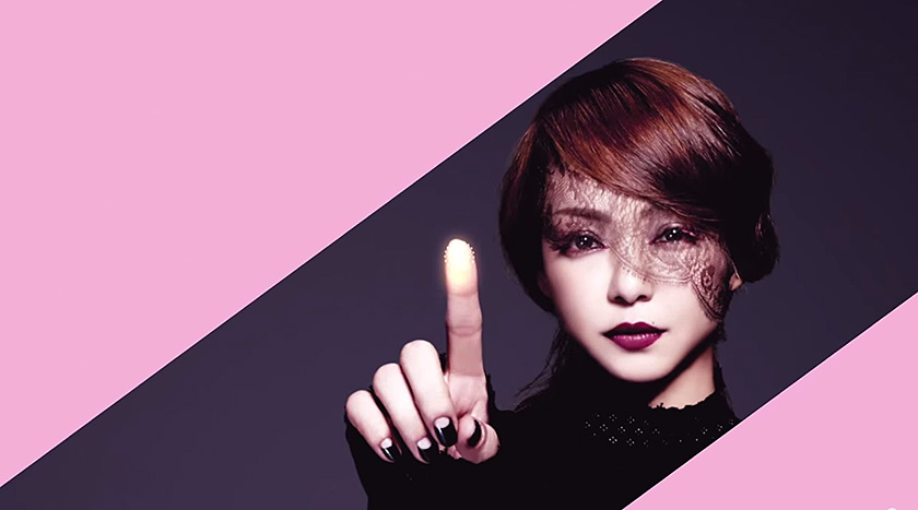 Golden Touch by Namie Amuro - A touch-friendly music video