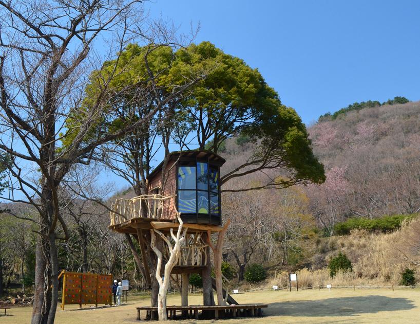 Takashi kobayashi tree house master for Treehouse designers
