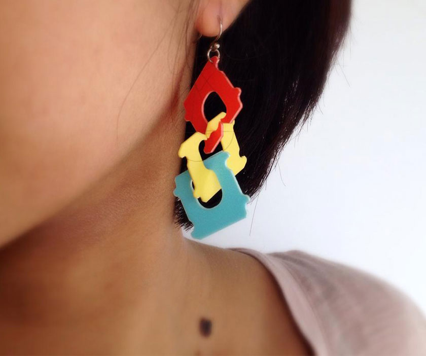 bread_clip_earrings japan‬ ‪‎design‬ ‪‎products‬ ‪goods‬ ‪‎accessories‬
