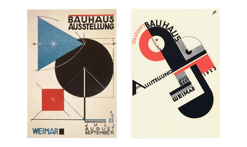 Bauhaus Design - exhibition poster