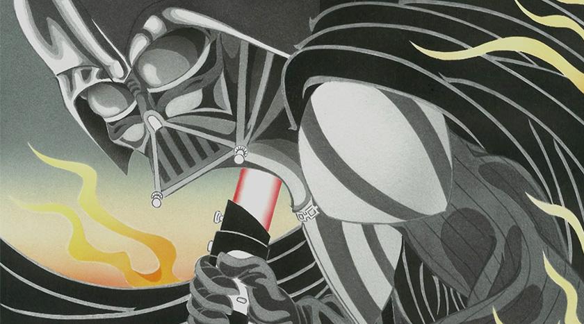 Starwars Ukiyoe - Makuake